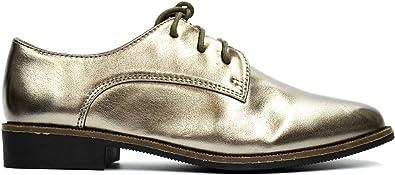 Chaussures Filles Garçons Derby Derbies à Lacets Simili Cuir