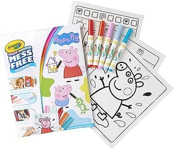 Crayola Color Wonder Peppa Pig Colouring Book
