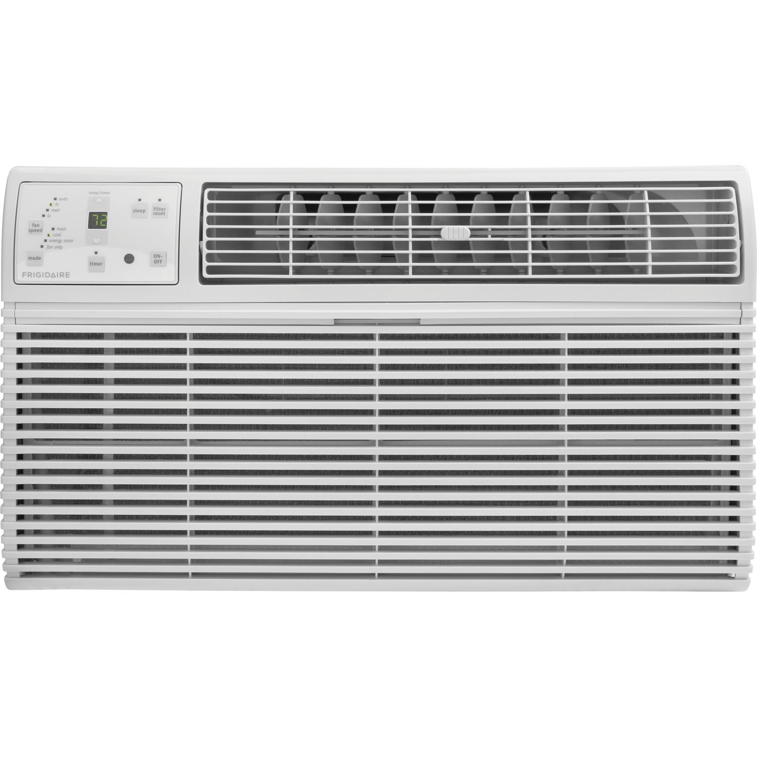 FRIGIDAIRE FFTH0822R1 8000 BTU 115-volt Through-The-Wall Air Conditioner with 4200 BTU Supplemental Heat Capability
