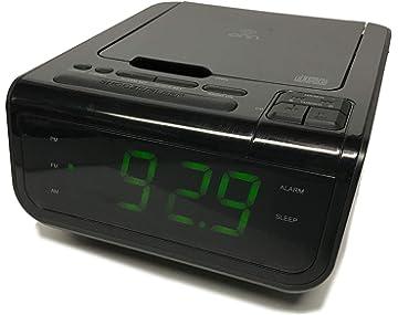Onn ONA502 CD/AM/FM/Alarm Clock Radio with Digital Tuning Alarm with