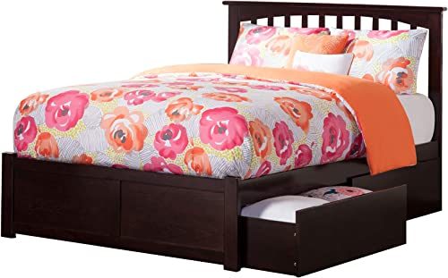 Atlantic Furniture Mission Bed