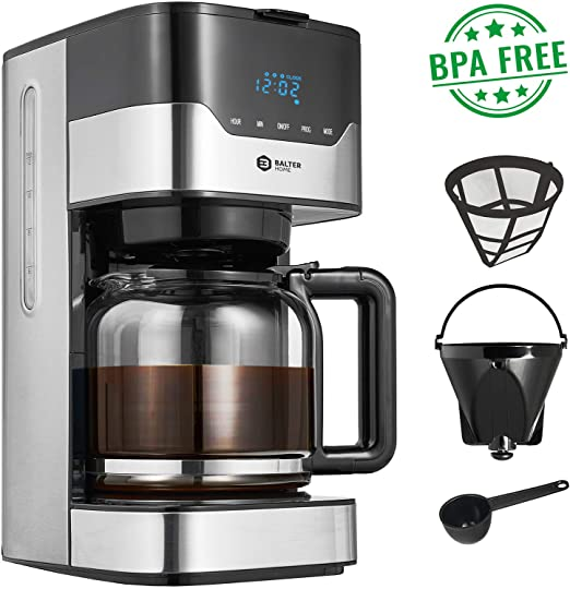 Balter filtro cafetera con temporizador ✓ 3 brühs tärken ...