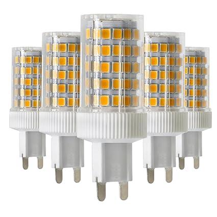 Bombilla led Bombilla halógena LED G9, 10W, equivalente a incandescente de 70W, 2700K