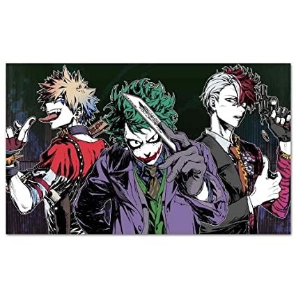 Amazon Com Large Posters My Hero Academia Joker Izuku