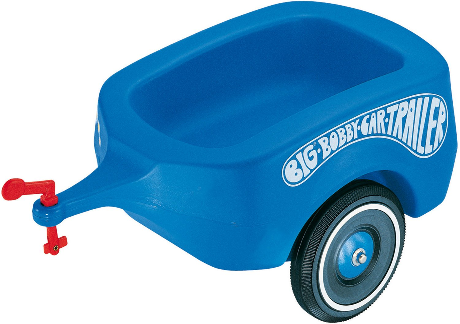 BIG 01311 BOBBY-CAR-TRAILER BLAU
