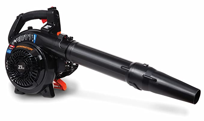 Remington RM2BL Ambush 27cc 2-Cycle 2-in-1 Handheld Gas Powered Leaf Blower-Vac Capable-Full Crank-2 Stroke