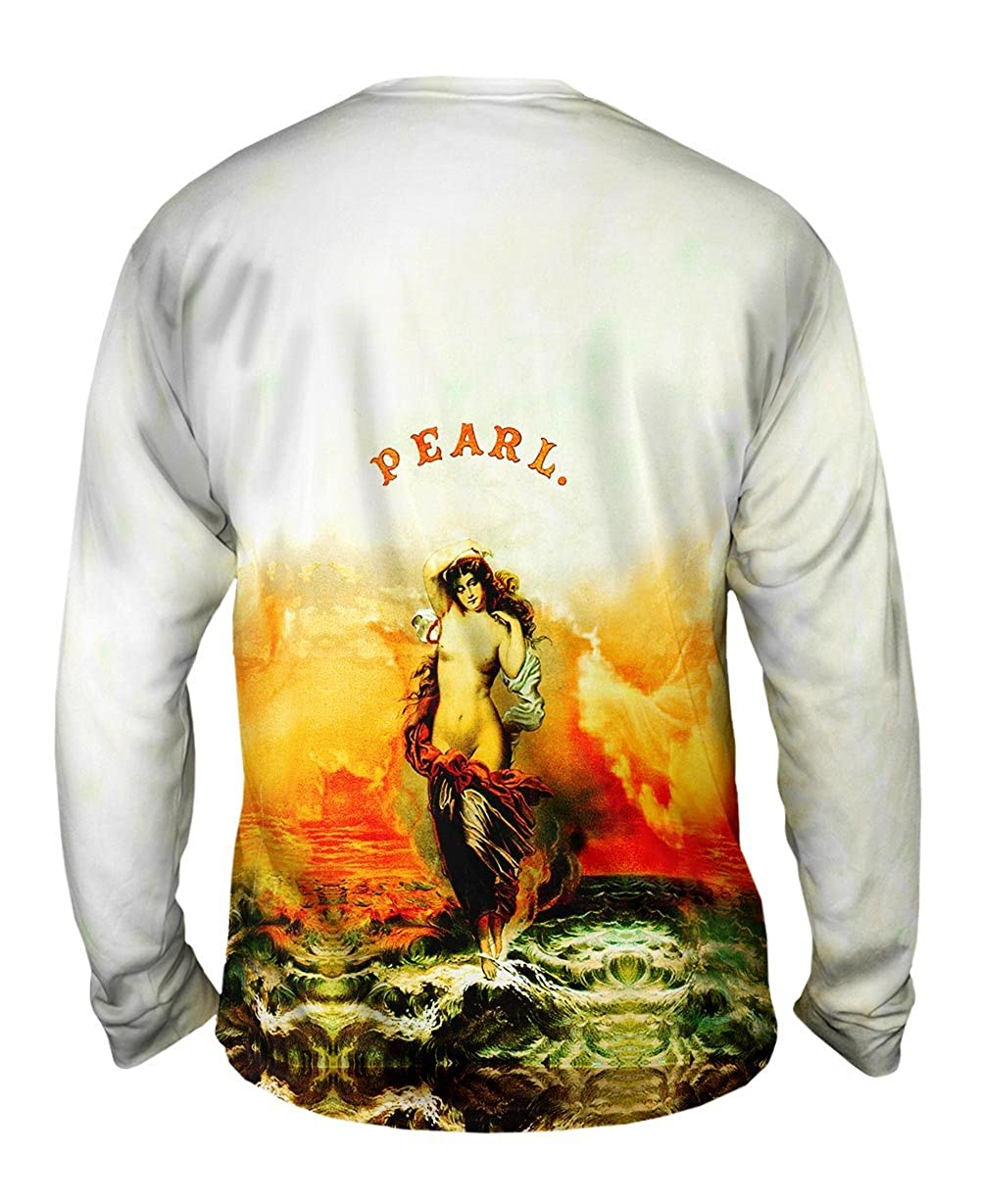 Yizzam Pearl Tobacco Label Mens Long Sleeve 2532 Trialsanderr