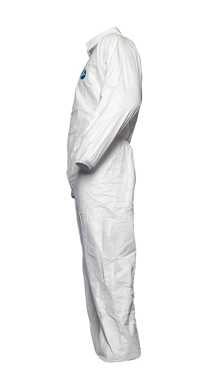 DuPont Tyvek 500 Industry // Chemikalienschutzkleidung KategorieII 100 Stk Typ 5 und 6 // Wei/ß // Gr/ö/ße S