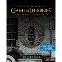 Game Of Thrones: Season 8 Steelbook 4K Ultra HD BluRay Deals