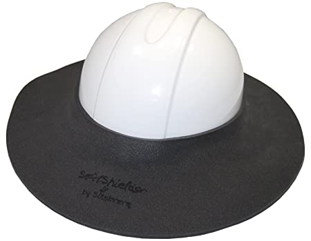 Sunbrero Hard Hat Sun/Rain Visor (GRAY/WHITE) MADE OF DURABLE, LIGHTWEIGHT CLOSED CELL FOAM