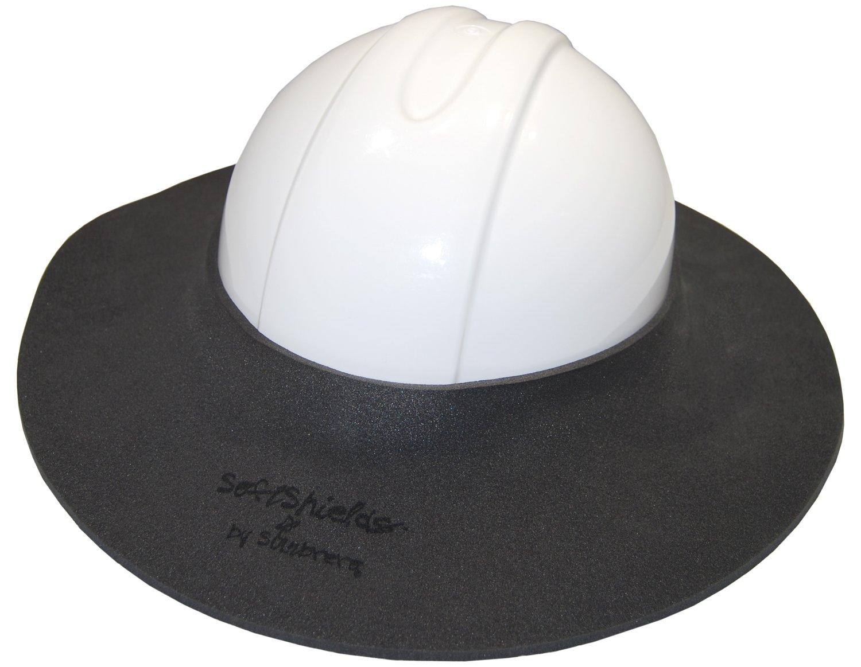 Sunbrero Softshields Hard Hat Sun/Rain Visor (GRAY/WHITE/SAFETY ORANGE CAMO)
