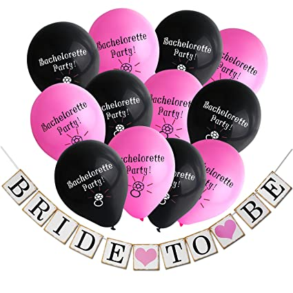 Amazon konsait bachelorette party decorations kitbride to be konsait bachelorette party decorations kitbride to be wedding banner garland bachelorette party balloons naughty junglespirit Image collections