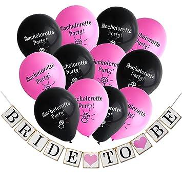 Konsait Bachelorette Party Decorations KitBride To Be Wedding Banner Garland For Bridal Shower