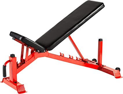 Garage Fit 1000 lb Workout Bench Rated Flat Weight Bench for Fitness Weight Lifting