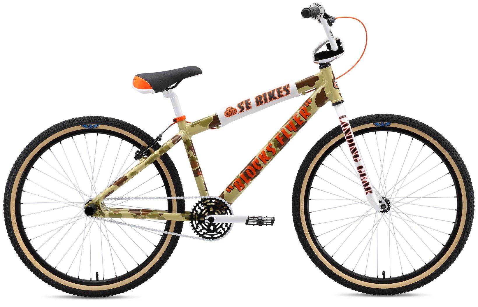 SE Blocks Flyer 26 BMX Bike Mens Sz 26in