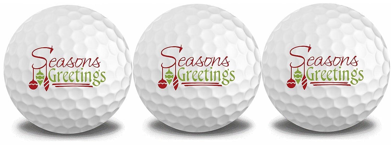 Seasons Greetings 3ボールスリーブ   B077Q4433B