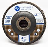 "Benchmark Abrasives 4.5"" x 7/8"" Type 27 Aluminum"