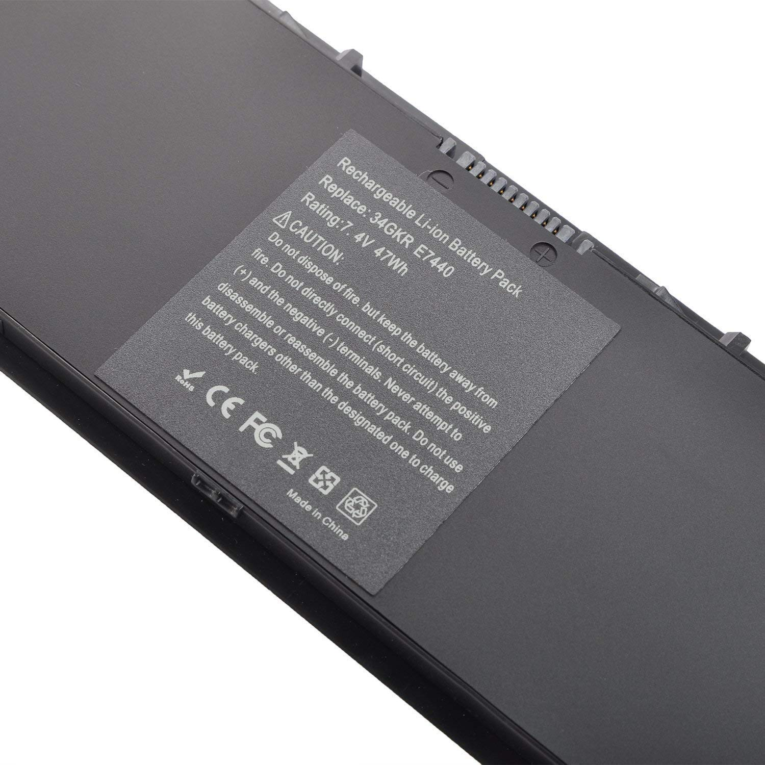 E7440 Laptop Battery Compatible with Dell Latitude E7450 E7420 E225846  Series 34GKR 3RNFD PFXCR F38HT T19VW G95J5,0G95J5 5K1GW [7 4V 47WH  Black]-18