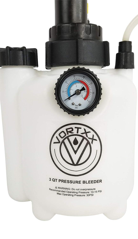 Vortxx 3L Pressure Brake Bleeder w//European Adapter Easy One Person DIY
