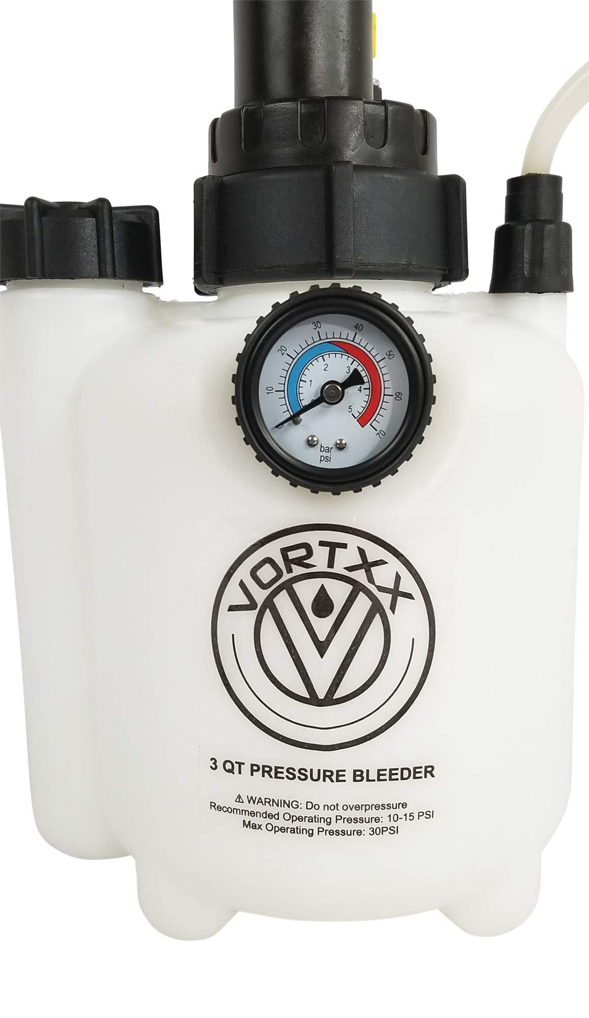 Vortxx 3L Pressure Brake Bleeder w/European Adapter - Easy One Person DIY by Vortxx (Image #5)