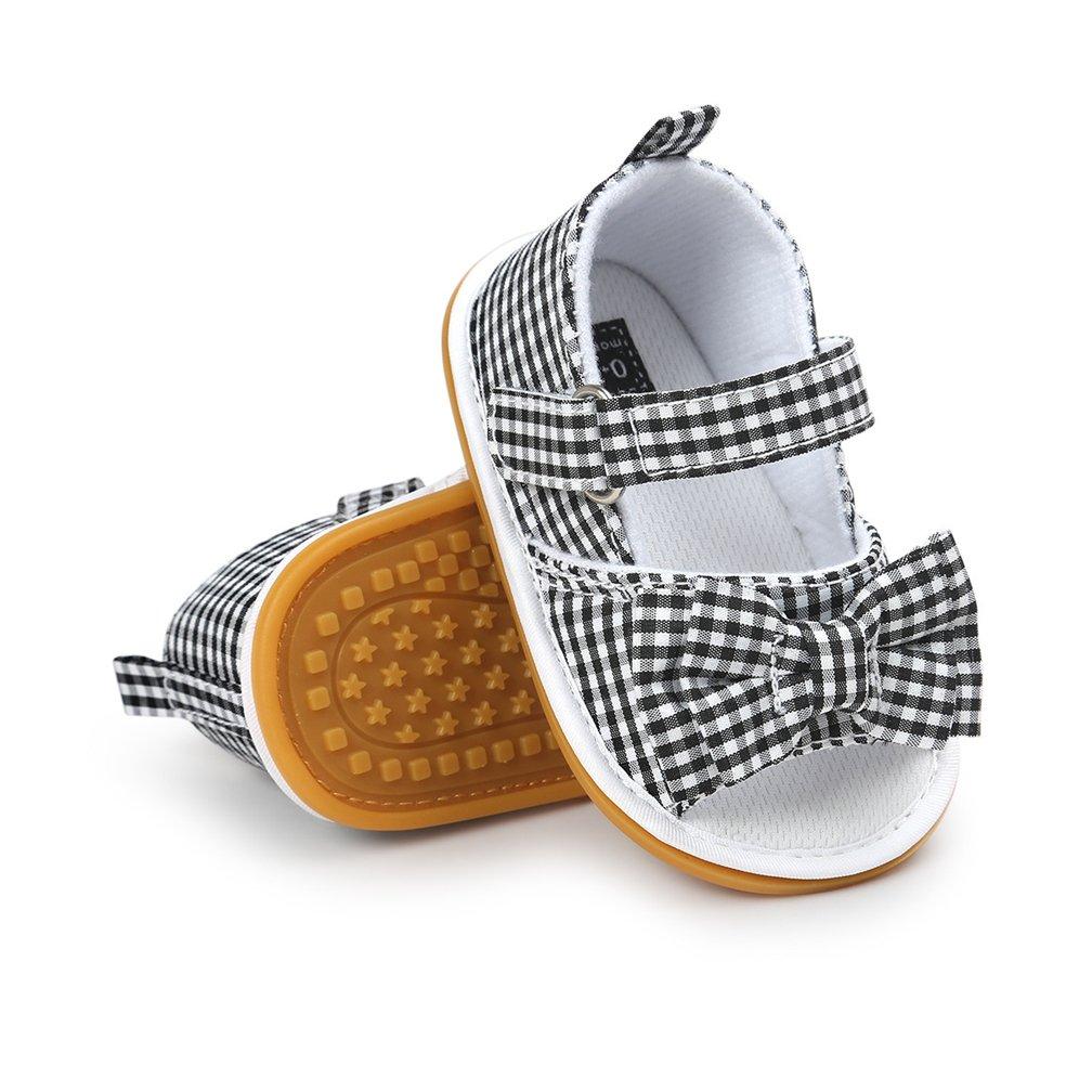 Toddler Girls Sandals, Baby Boys Girls Prewalker Rubber Sole Non-Slip Outdoor Summer Sandals
