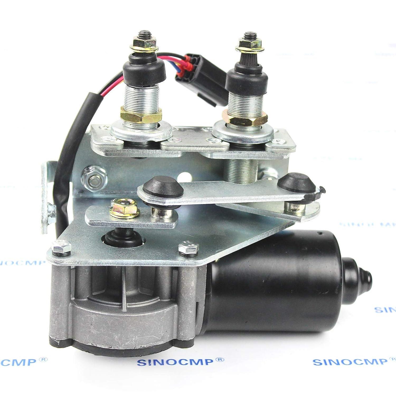 Wiper Motor SINOCMP Wiper Motor for Volvo EC250 EC300 EC220 ...