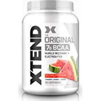 XTEND Original BCAA Powder Watermelon Explosion - Sugar Free Post Workout Muscle Recovery Drink with Amino Acids - 7g…