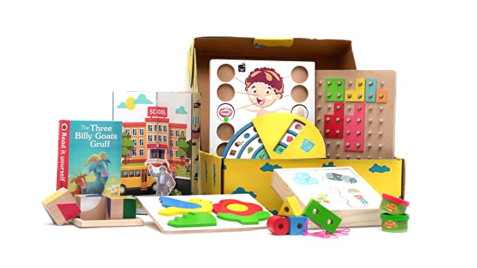 Buy Wonderlearn Lkg 3 4 Year Old Learning Toys And Online Games Monthly Pack Online At Low Prices In India Amazon In
