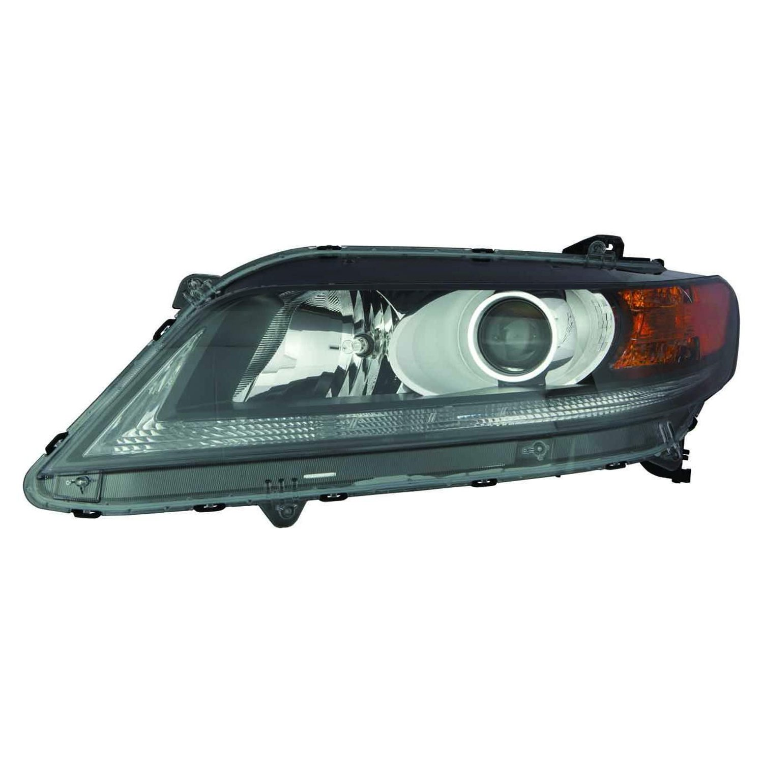 PartsChannel HO2502153R OE Replacement Headlight Assembly HONDA ACCORD COUPE 2013-2014