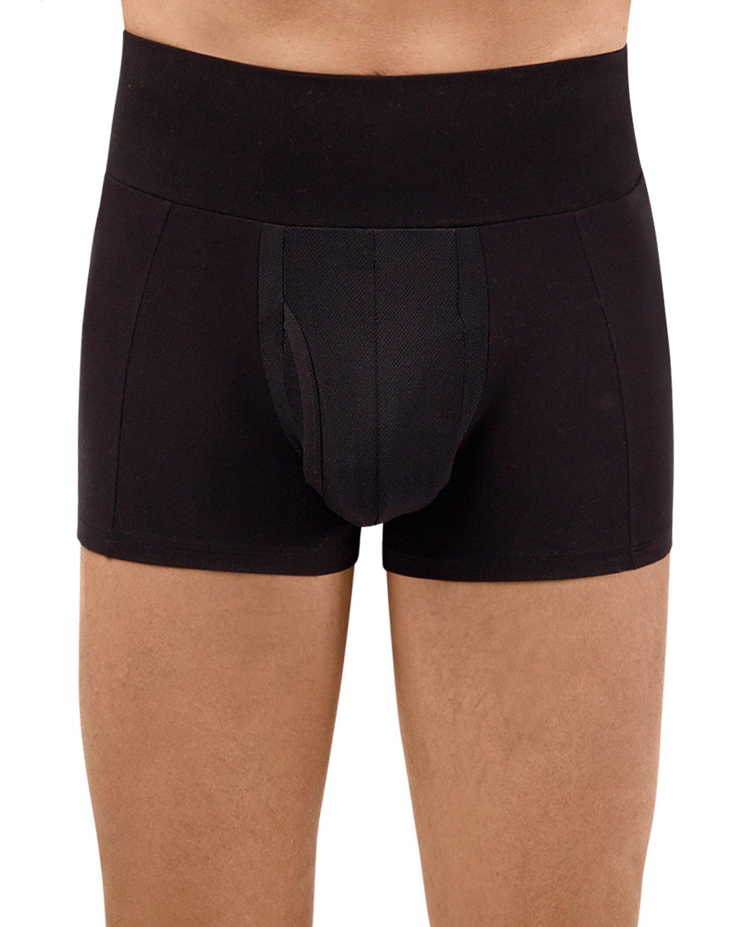 Spanx for Men Men's Slim-Waist¿ Trunk Black Underwear