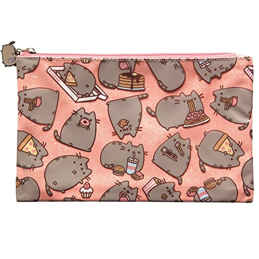 f645144802 Amazon.com  Gift For Pusheen Lover - Sparkly Pusheen Clutch Purse ...