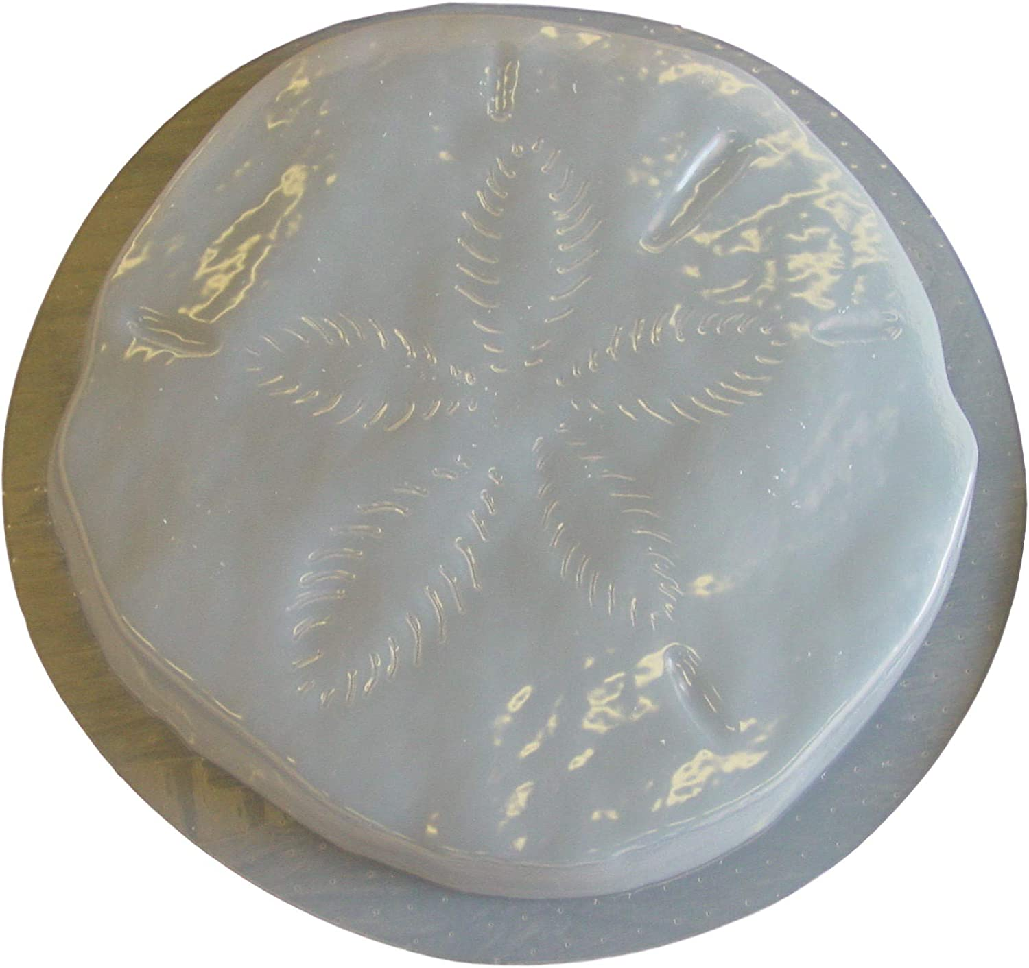 """Starfish stepping stone mold concrete plaster abs plastic mould 12/"""" x 2/"""" thick"""
