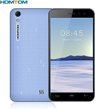 Homtom HT16 - Smartphone Libre 3G de 5.0HD (Android 6.0, 5.0MP+ ...