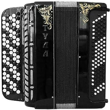 Brand New 5 Rows Bayan Tula 209 B-system Stradella, Russian Chromatic  Button Accordion, High-class Musical Instrument, Bn-49-3, 5 Row 100 Bass