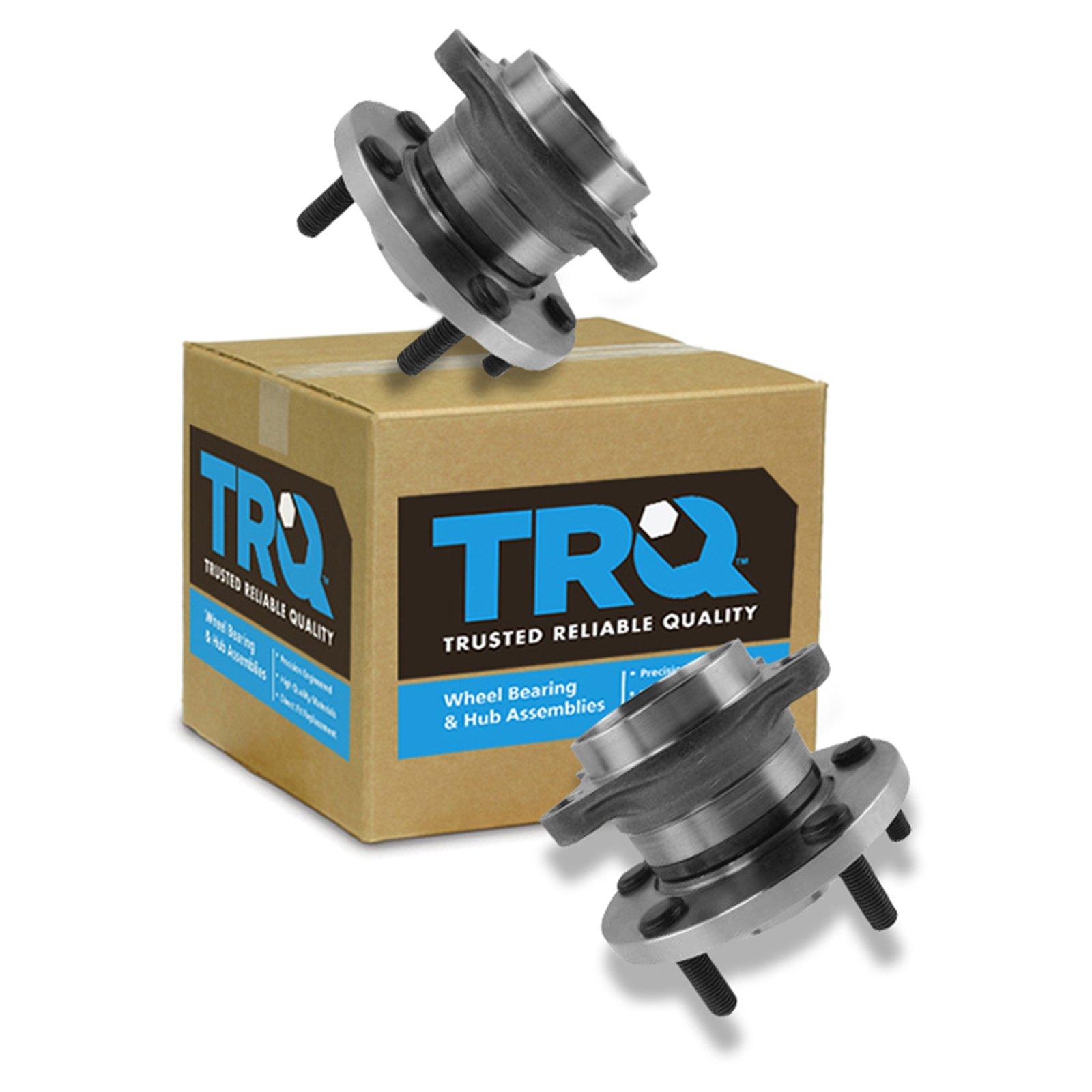 TRQ Wheel Bearing & Hub Assembly Pair LH & RH Sides Rear for Mazda CX-9