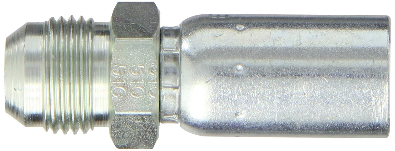 EATON Weatherhead Coll-O-Crimp 10U-510 Male Rigid Fitting SAE 37 Degree 5//8 Tube Size 5//8 Hose ID 5//8 Tube Size 5//8 Hose ID Low Carbon Steel