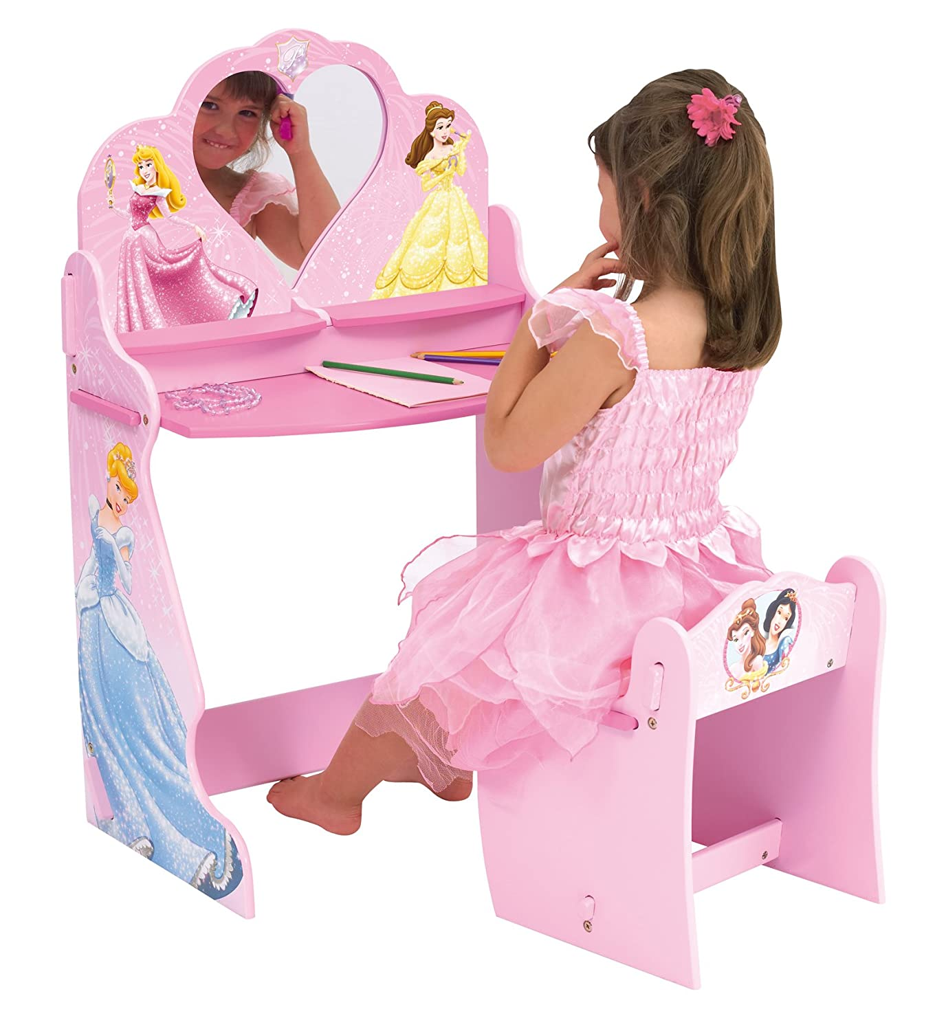 Amazon Disney Princess Vanity Table Toys & Games