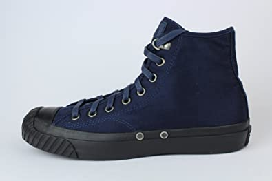d5f39e3c19cd Image Unavailable. Image not available for. Colour  Convers All Star Hi Converse  Mens Cons Trainers Shoes Navy Blue Size US ...