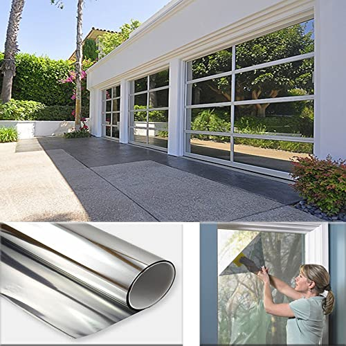 Sugo 3FT x 100FT Premium One Way Mirror Privacy Reflection Window Tint Film Energy Saver 5 VLT