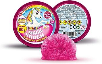 80 g Craze 58917 Magic Dough Multi Color Unicorn Edition