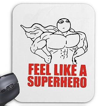 Mousepad Computer Mouse Feel Like A Superhero Man Meme Internet