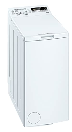 Siemens IQ 300 WP12T254 Waschmaschine Toplader A B 1200 UpM 6 Kg Weiss Nachlegefunktion Wolle Handwasch Programm Amazonde Elektro Grossgerate