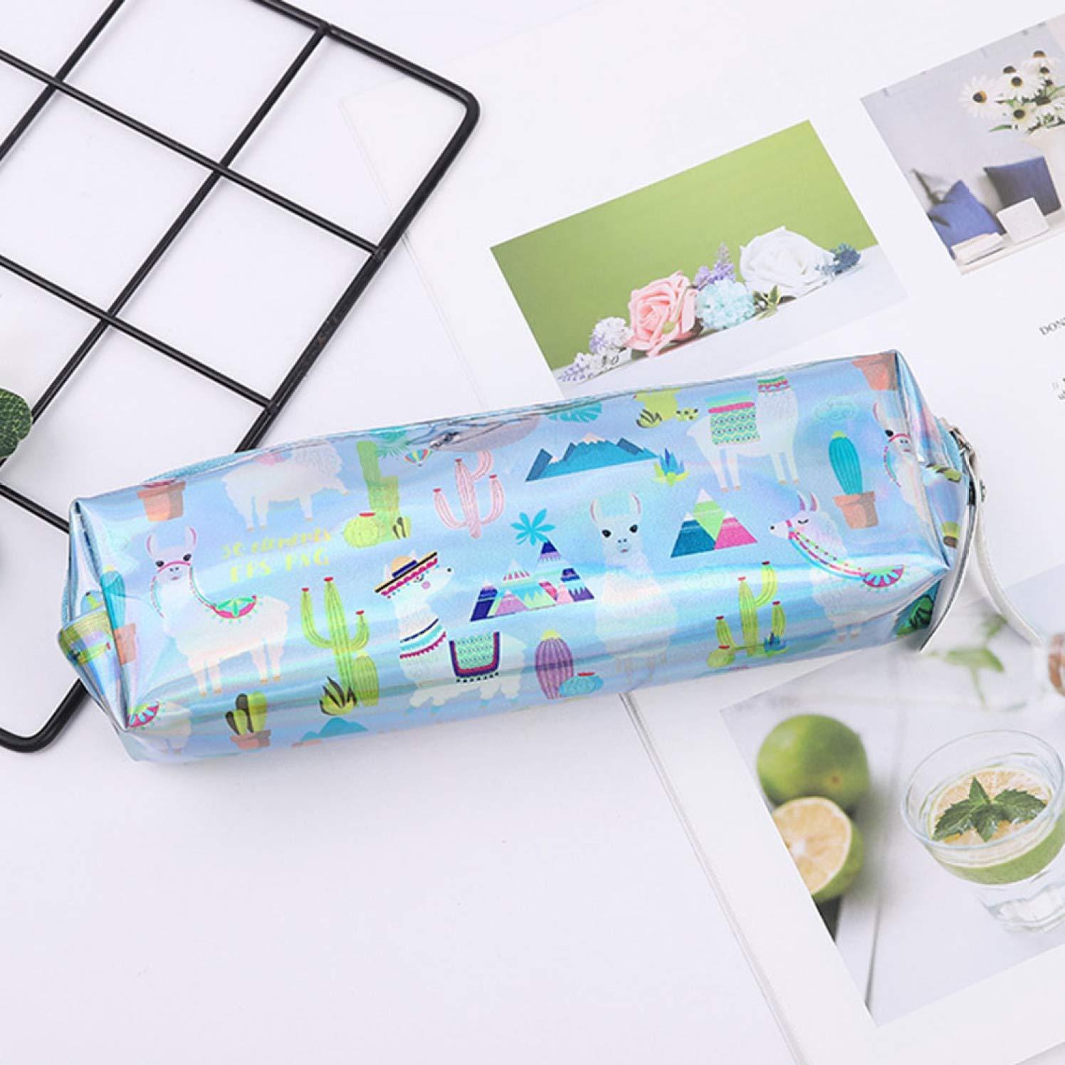 Guoxii Worthwhile - Estuche para lápices, diseño de alpaca, tamaño ...