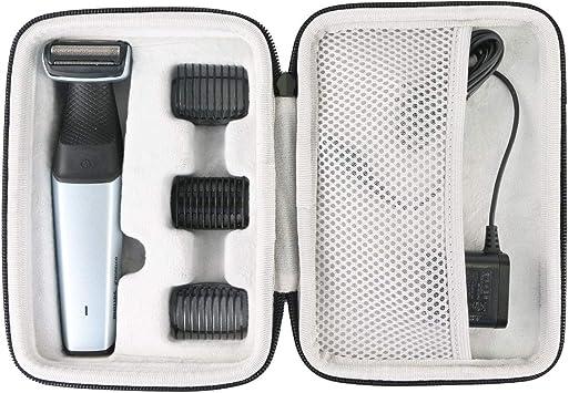 Khanka Duro Viaje Estuche Bolso Funda para Philips Serie 5000 BG5020/13 BG5020/15 Afeitadora Corporal Apta para la Ducha: Amazon.es: Salud y cuidado personal