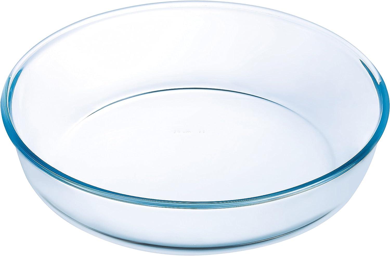 Ô cuisine - Molde Tarta, Hondo, Blanco, 22 cm: Amazon.es: Hogar