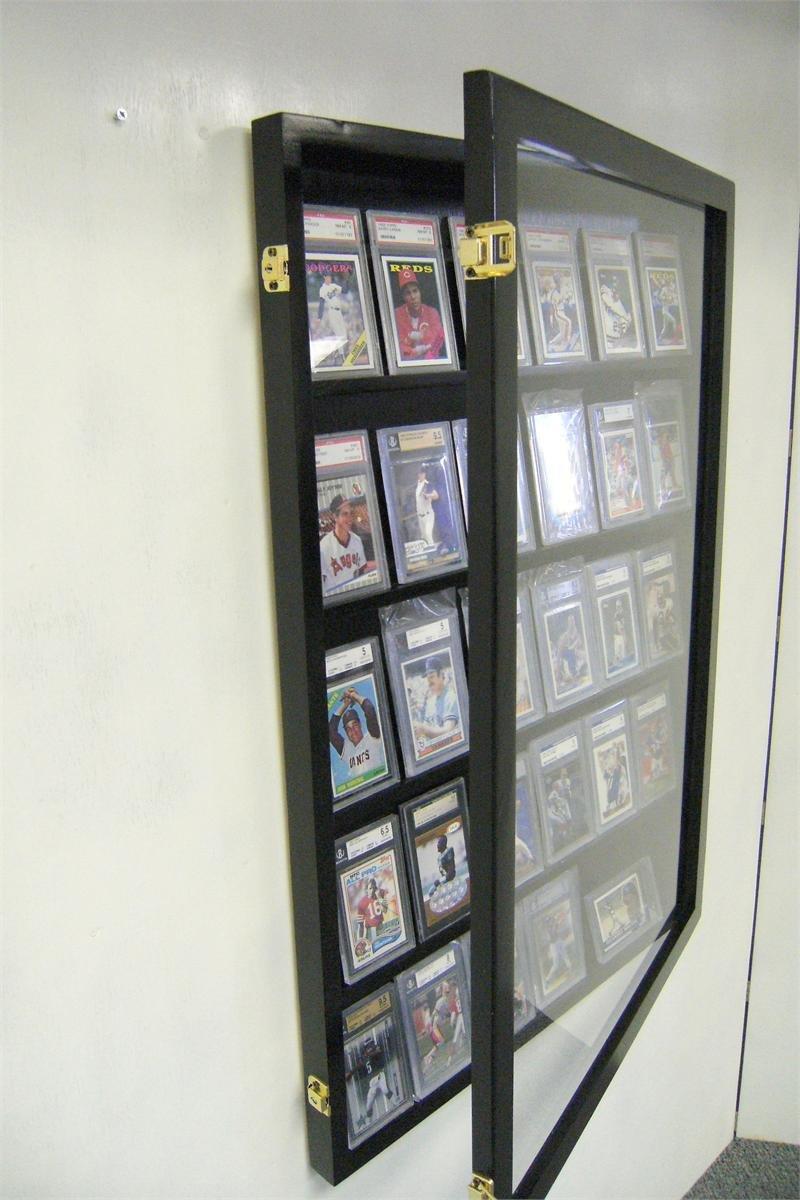 Baseball Card Display Case For Graded Cards 30 Psa Deep Beckett