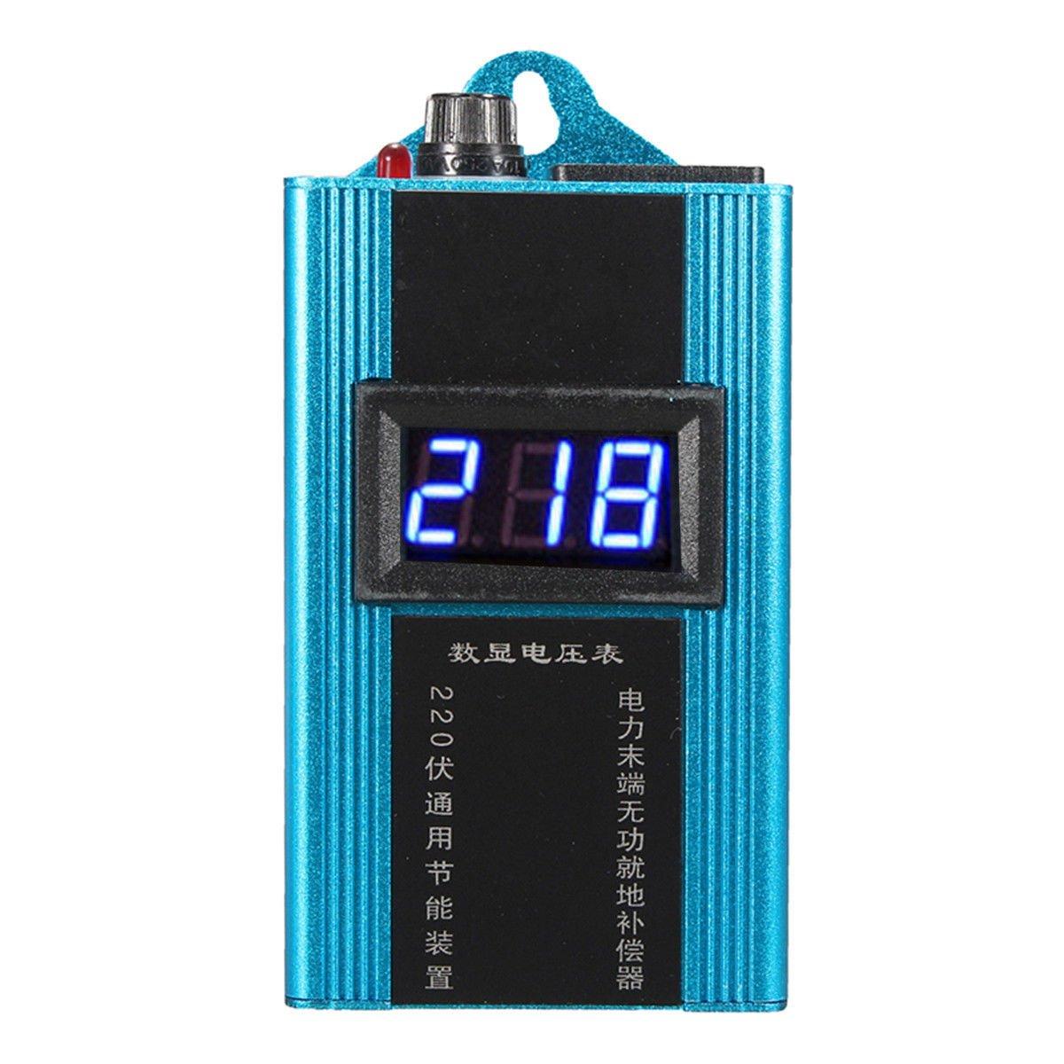 Simply Silver - Saver Saving Box Electricity - 110-230V 80KW 10-35% LED Power Energy Saver Saving Box Electricity Bill Killer US