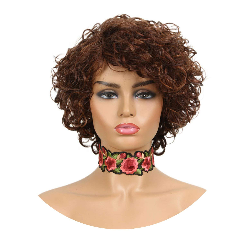 Amazon.com : Brazilian Short Curl Human Hair