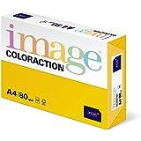 Antalis ColorAction Ramette 500 feuilles papier couleur pour Imprimante jet d'encre/laser/Copieur 80g A4 Sevilla Jaune soleil