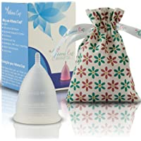 Athena Cup La Coupe Menstruelle La Plus Recommandée Comprend Un Sac Offert - Taille 1, Transparent